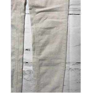 acbcd51bc43480 Joe Fresh Pants - Joe Fresh Women's Corduroy Pants Size 4 Ivory Slim